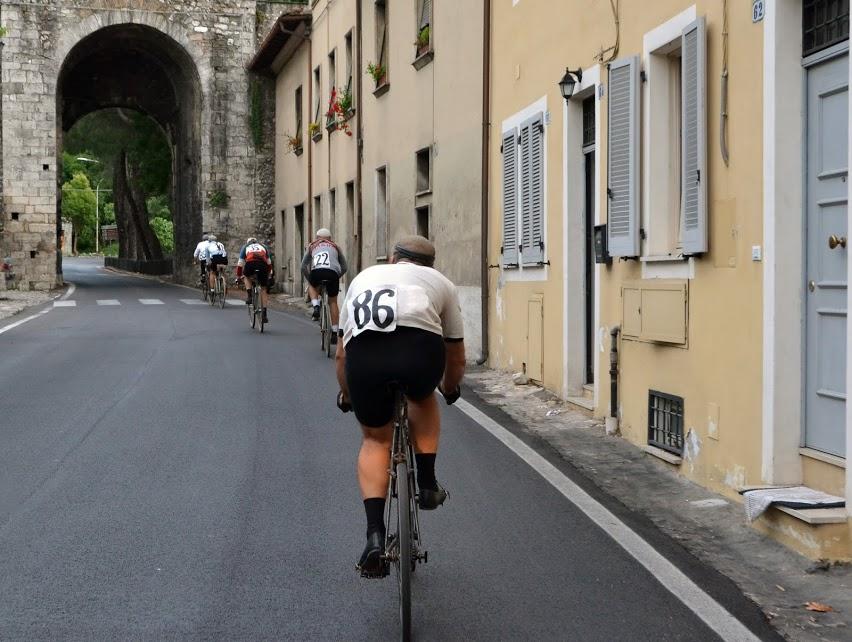 Les forcats de la route du Giro 1914