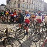 Les Italiens au départ du Paris-Roubais Challenge 2018