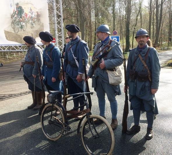 Pliante Peugeot, le vélo des bataillons cycliste de la 1ere guerre
