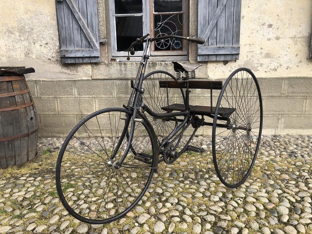 Tricycle Peugeot 1889 modèle