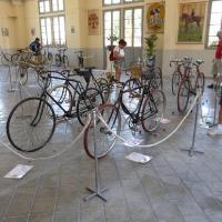 Arreau juillet 2016, les vélos de course