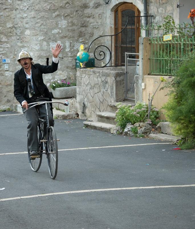 Et enfin la bicyclette...