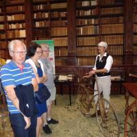 Conférence dans la salle patrimoniale bibliothèque de St Omer