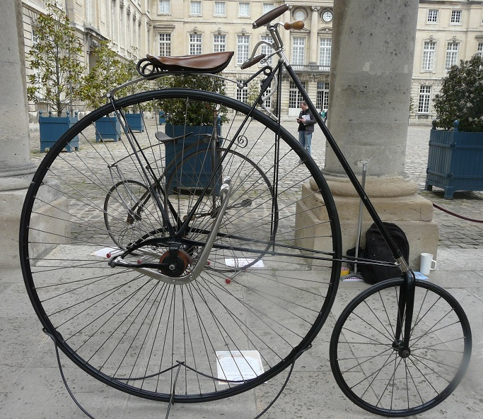 Star bicycle 1888 Compiègne